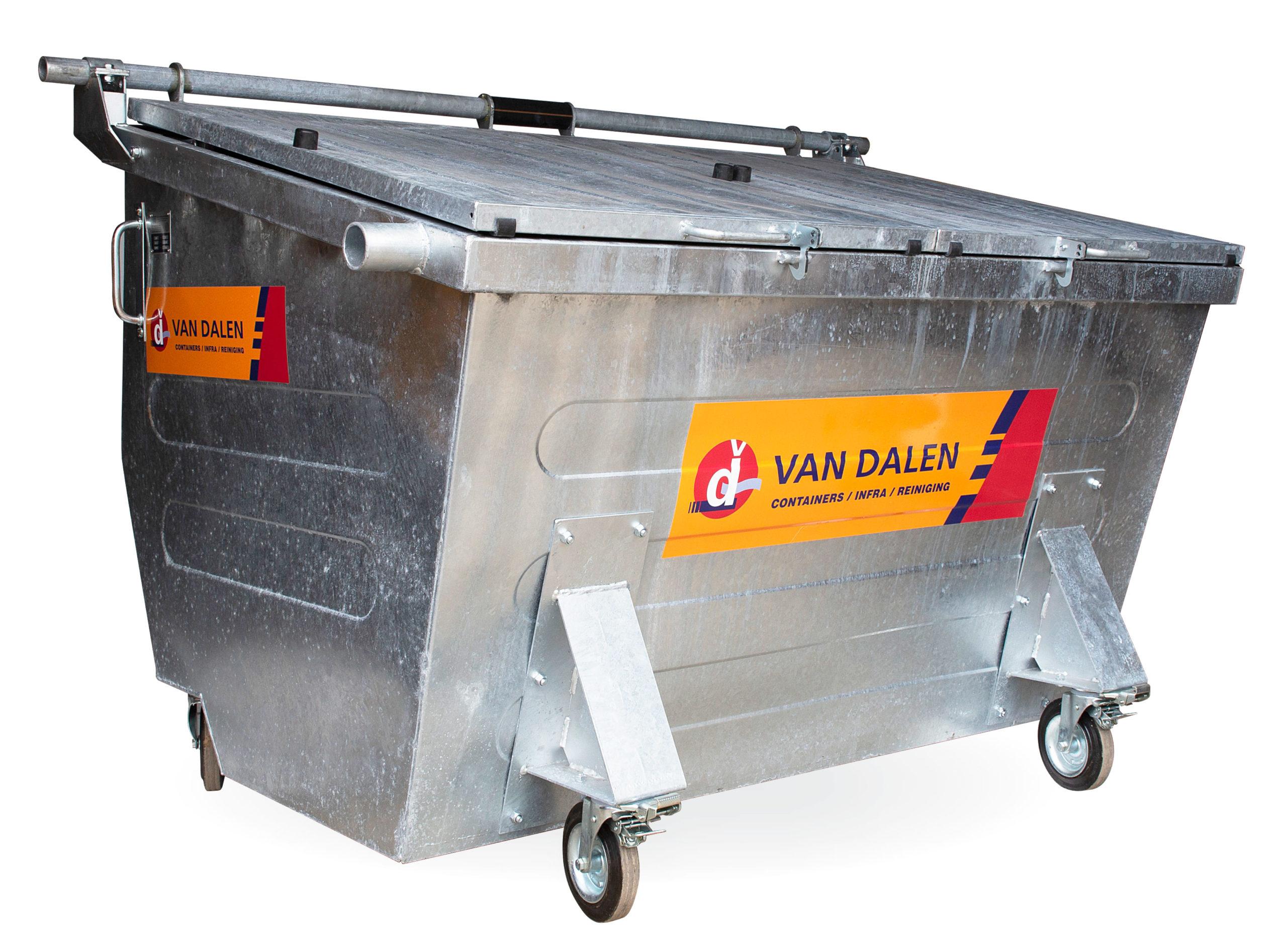 Rolcontainer 2500 liter