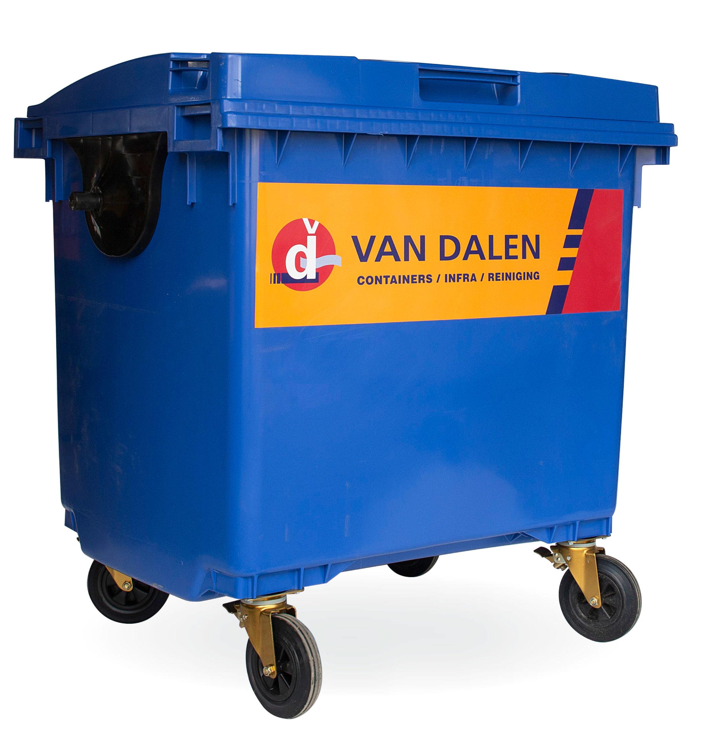 Rolcontainer 770 liter - Papier