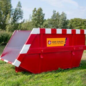 Afval container 10 m³ - Van Dalen