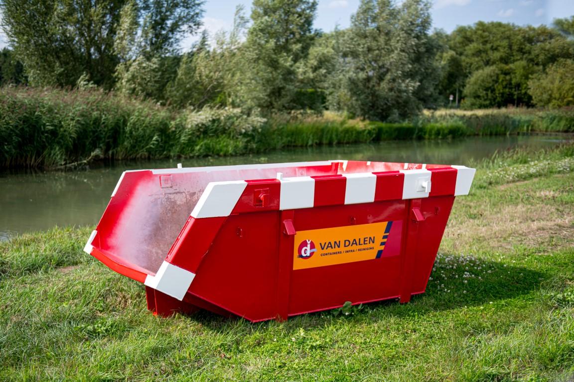 Afval container 3 m³ - Van Dalen