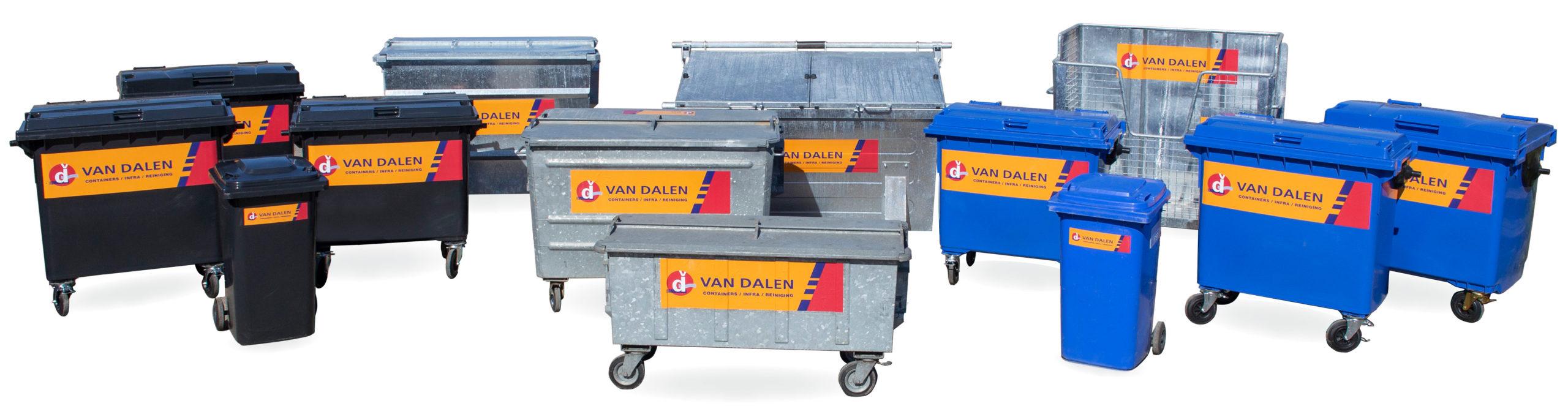 Rolcontainers van Van Dalen